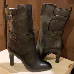 Brand new never worn Joan and David black boots